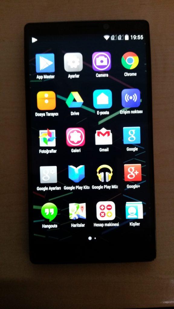 Lenovo K920 Vibe Z2 Pro Google Apps'lı Türkçe Rom servisi