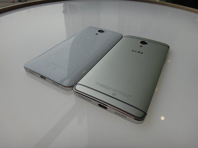 Letv One X600 ve LeTV One Pro Yanyana