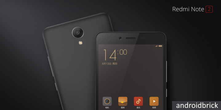 Redmi Note 2 black