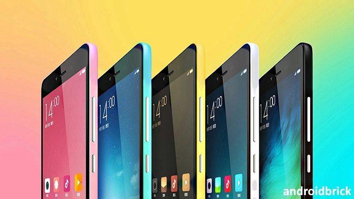 Xiaom Redmi Note 2 Prime colors