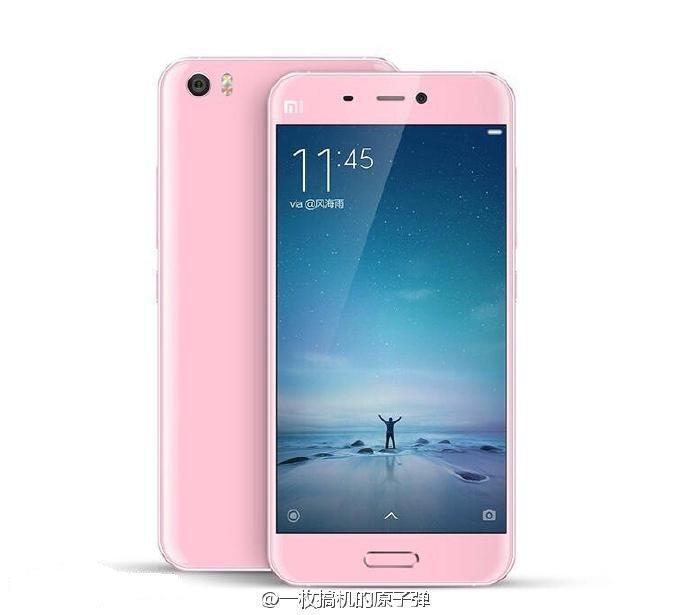 Xiaomi Mi5_pink