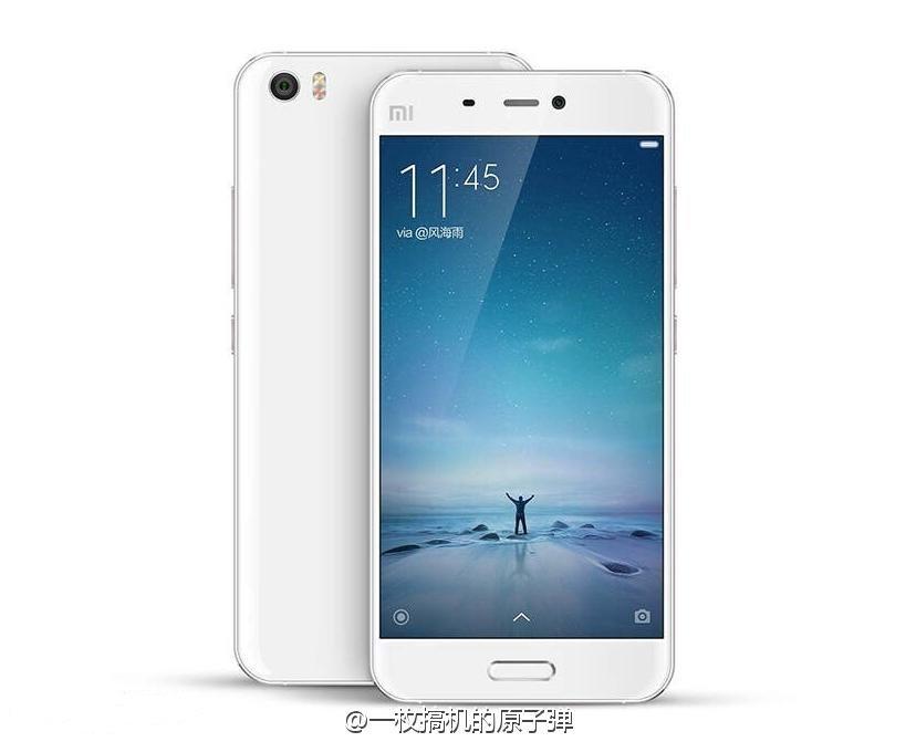 Xiaomi Mi5_white