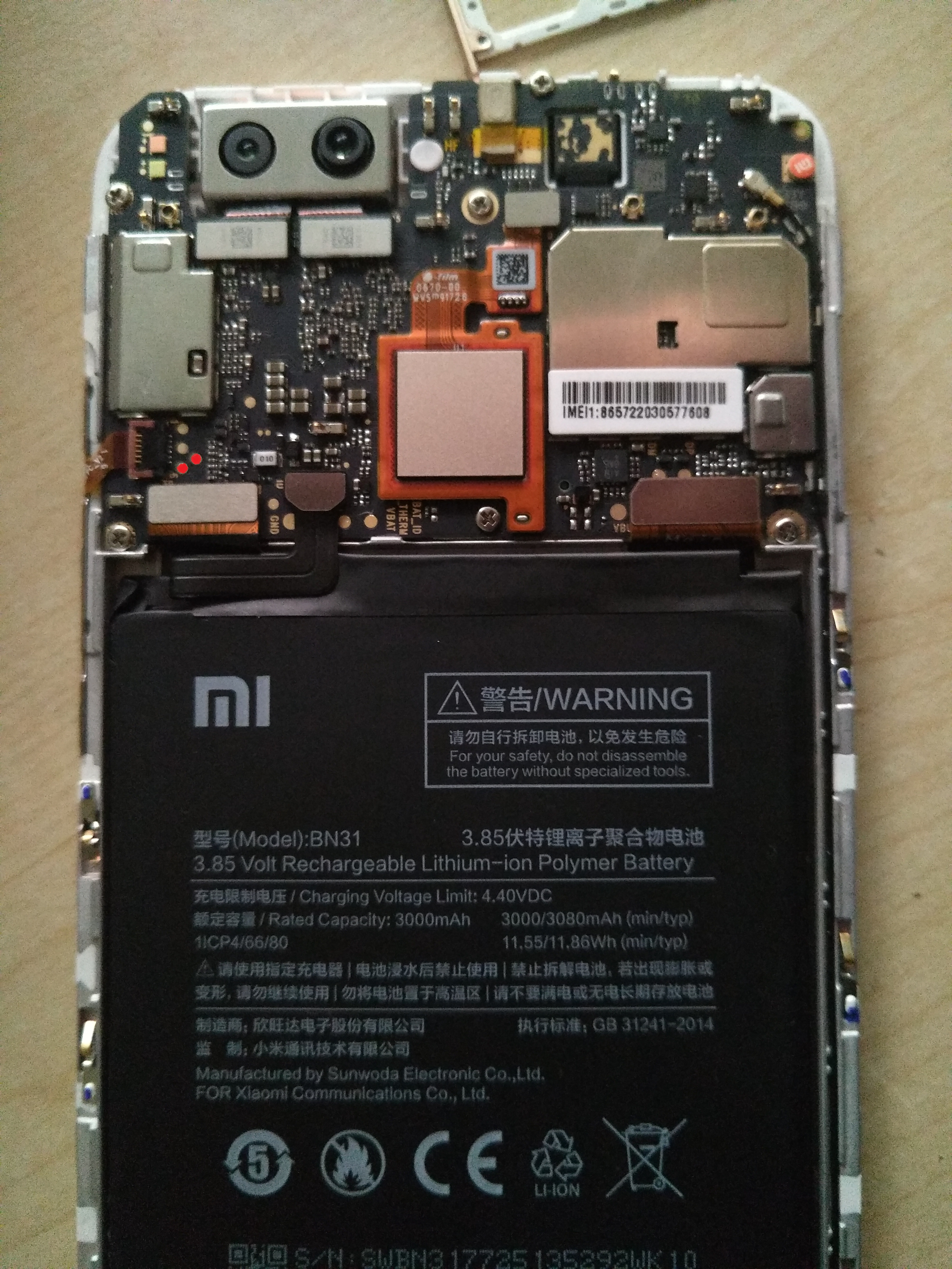Xiaomi Mi6 Test Point Xiaomi 5x Test Point Androidbrick