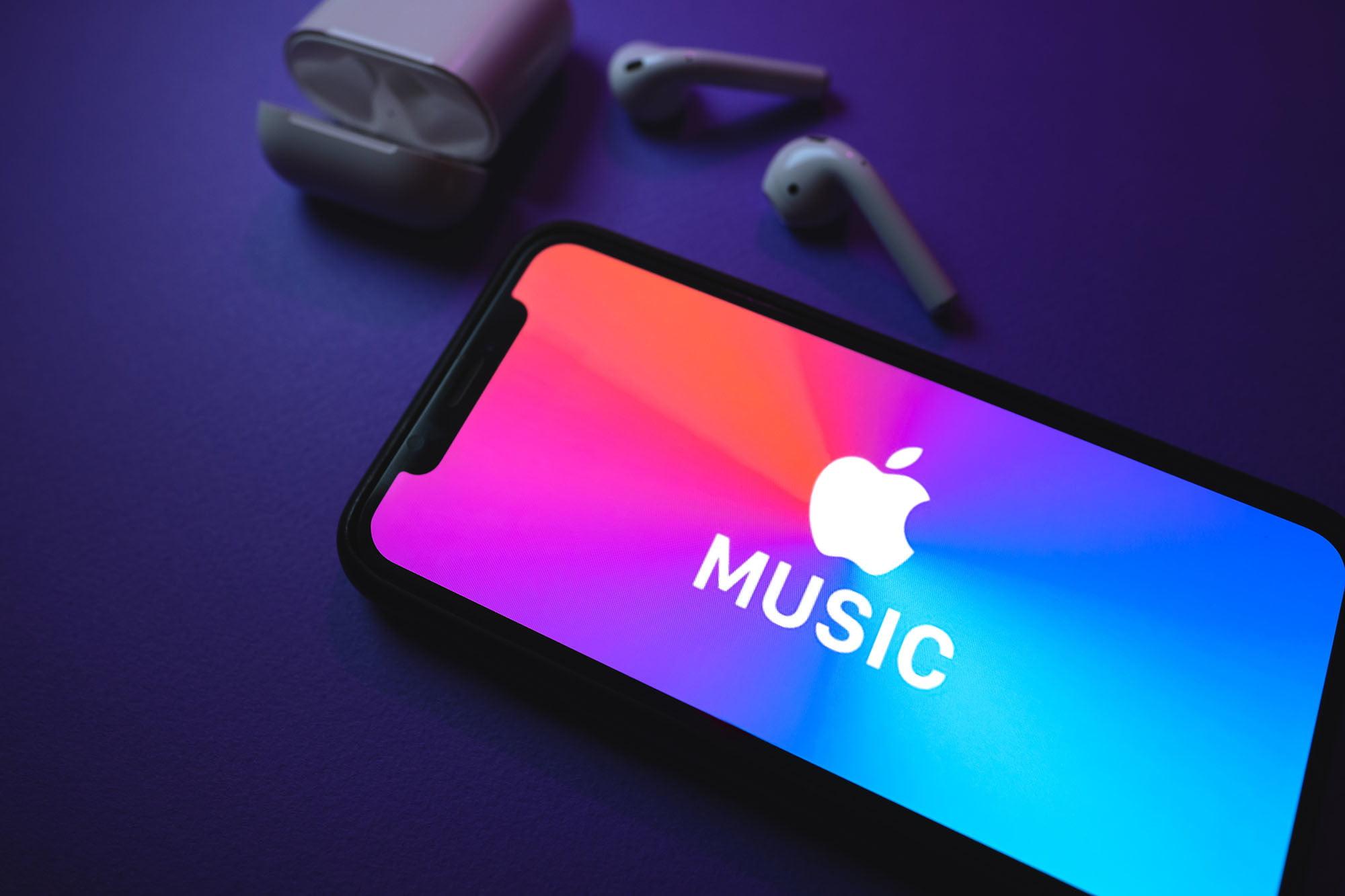 Apple lossless music