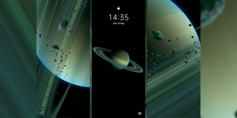Download Mi 10 Ultra Super Saturn Live Wallpaper
